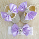 Double Bow Swarovski Baby Girl Shoes - Tianoor