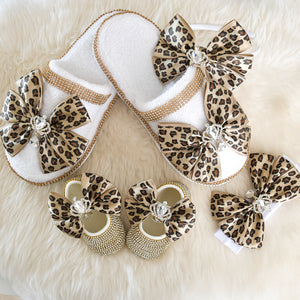 Mommy & Me Swarovski Crystal Baby Shoes Set - Tianoor