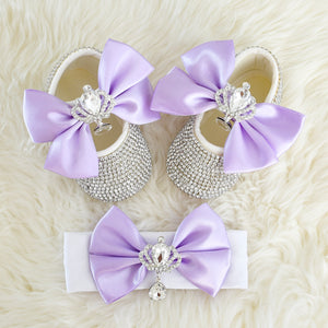 The Queen Swarovski Baby Girl Shoes