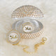 Baby Name Crystal Glam Pacifier Gift Set - Tianoor
