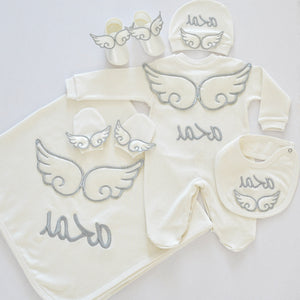 personalized newborn coming home outfit - Tianoor