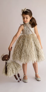 THE FEATHER DRESS - Tianoor