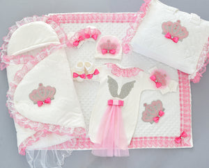 Welcome Home Cupid Baby Set