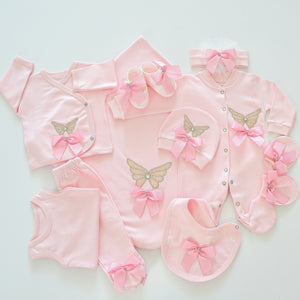 10 Piece Butterflies Newborn Set - Tianoor