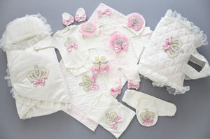 Coming Home Personalised Newborn Girl Set - Tianoor