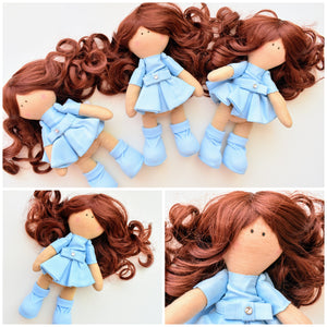 Bebe Doll in Blue Dress - Tianoor
