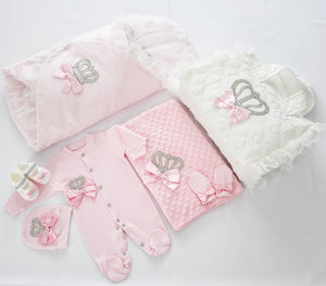 Welcome Home Newborn Baby Girl Set - Tianoor