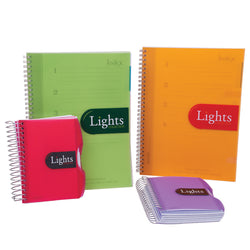 Mintra Lights 5 Sub 192 Pages Spiral Notebook