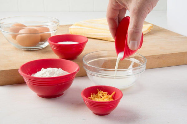 Flexible Silicone Measuring Cups