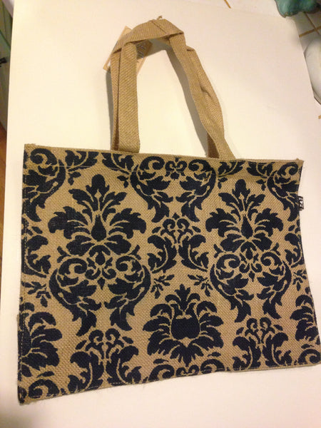 Jute ~ Sunset Blue Shopper Bag / Protecting our planet one bag at a time!