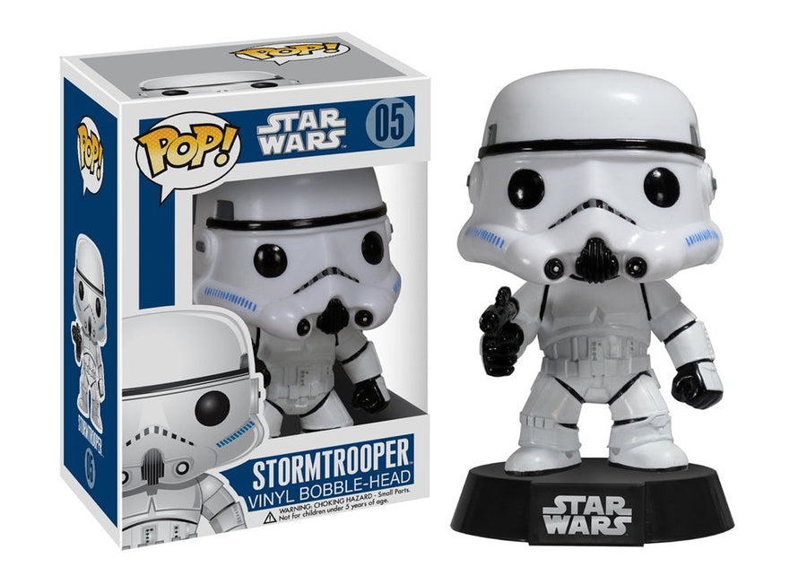 Funko POP! Star Wars - Vinyl Figure Bobble-Head Stormtrooper (05)