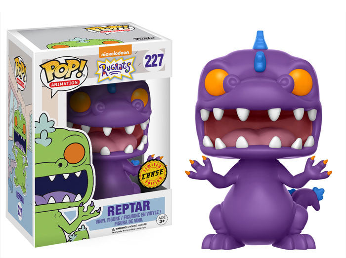 Funko POP! Vinyl Animation - Rugrats  - Figure Reptar Chase