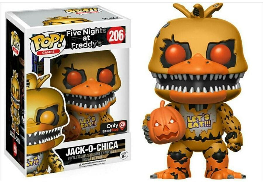 Funko POP! Games - Five Nights at Freddy's  - Vinyl Figure Jack-O-Chica (Exclusive) (206)