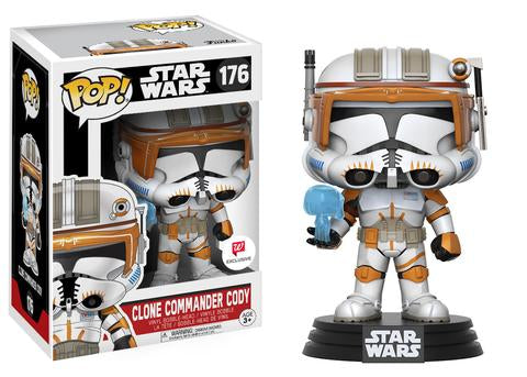 Funko POP! Vinyl Star Wars - Figure Bobble-Head Clone Commander Cody (Exclusive) (176)