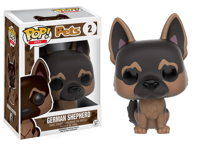 Funko Pop! - Pets - Dogs - Vinyl Figure German Shepherd (02)