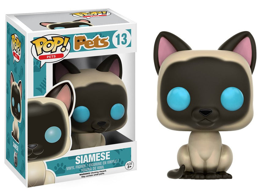 Funko POP! Pets - Cats - Vinyl Figure Siamese (13)