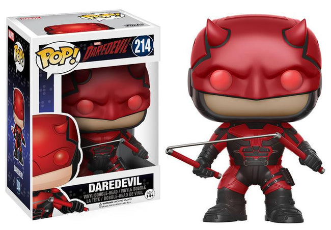 Funko POP! Vinyl Marvel - Daredevil - Figure Bobble-Head Daredevil (214)
