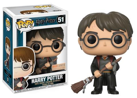 Funko POP! Movies - Harry Potter - Harry Potter (Firebolt) (51) Exclusive