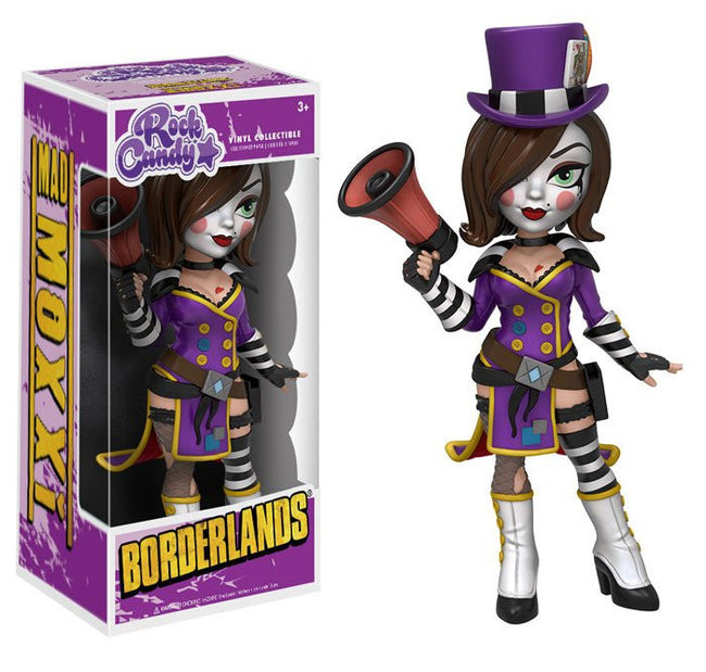 Funko Rock Candy - Borderlands - Vinyl Figure Mad Moxxi