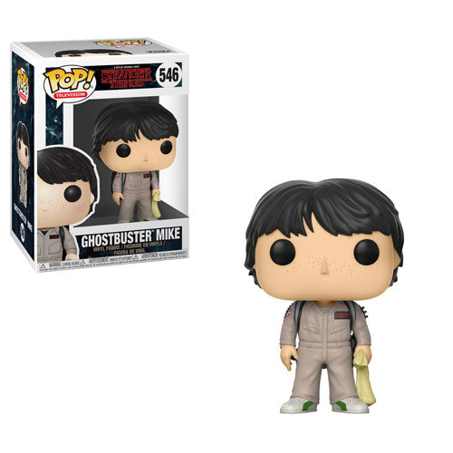 Funko POP! Television - Stranger Things (Season 2) - Vinyl Figure Ghostbuster Mike (546)