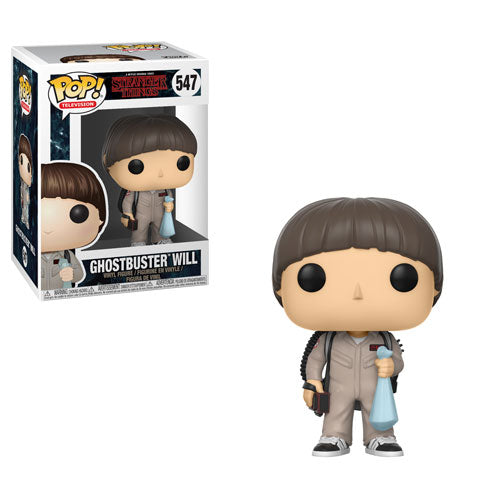 Funko POP! Television - Stranger Things (Season 2) - Vinyl Figure Ghostbuster Will (547)