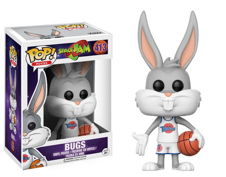 Funko POP! Movies - Space Jam - Vinyl Figure Bugs (413)