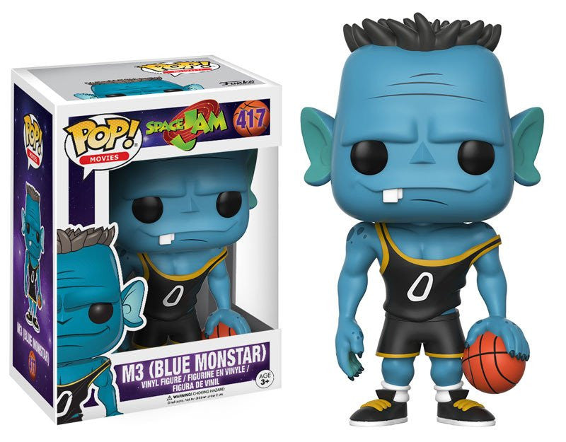 Funko POP! Movies - Space Jam  - Vinyl Figure M3 (Blue Monstar) (417)