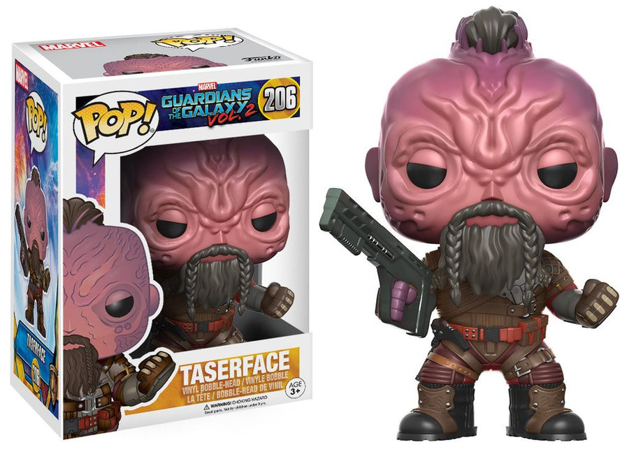 Funko POP! Vinyl Marvel - Guardians of the Galaxy (Vol. 2) - Figure Bobble-Head Taserface (206)