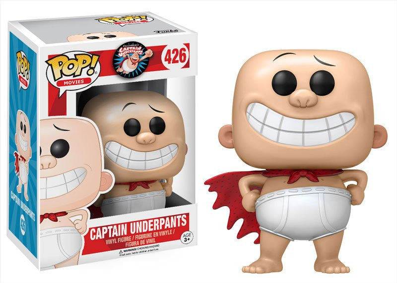 Funko POP! Movies - Captain Underpants - Vinyl Figure Captain Underpants (426)