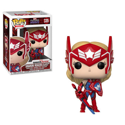 Funko POP! Games - Marvel Future Fight - Vinyl Figure Sharon Rogers (as Captain America) (335)