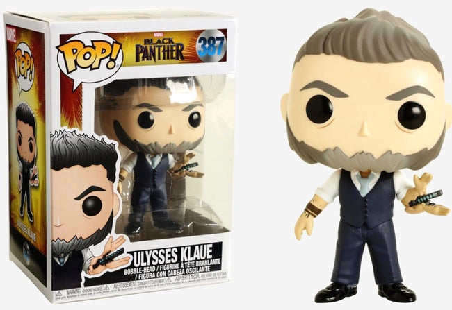 Funko POP! Marvel - Black Panther - Vinyl Figure Ulysses Klaue (387)
