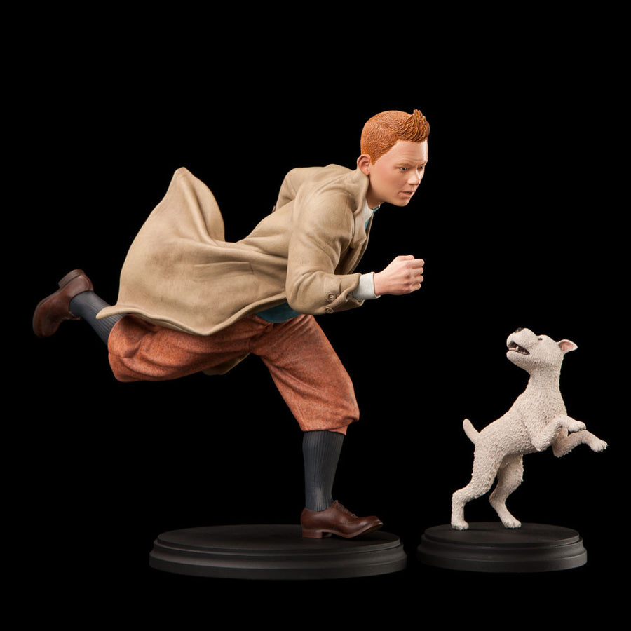 WETA Resin - Tintin - The Adventures of Tintin - Tintin & Snowy