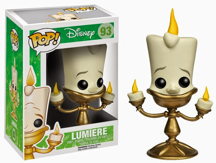 Funko POP! Disney - Disney Serie 6 - Beauty & The Beast - Vinyl Figure Lumiere (93)