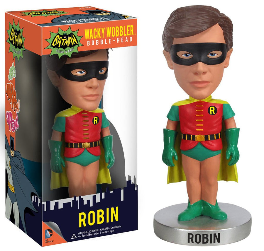 Funko Wacky Wobblers Bobble-Head Vinyl - Batman, Classic TV Series - Figure Robin