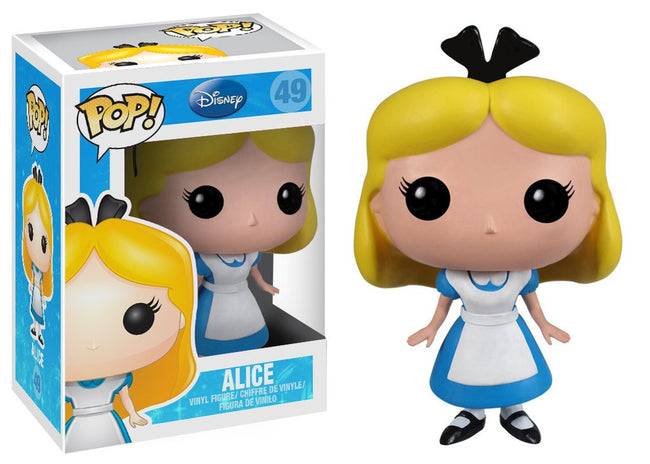 Funko POP! Disney - Serie 5 (Alice in Wonderland) - Vinyl Figure Alice (49)