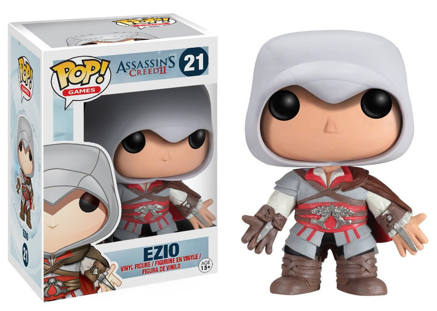 Funko POP! Vinyl Games - Assassin´s Creed - Figure Ezio (10 cm)