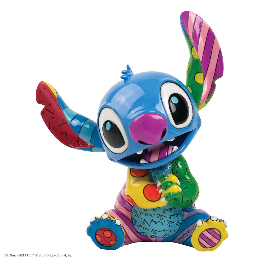 Enesco - Britto - Disney - Lilo & Stich - Resin Figure Stitch