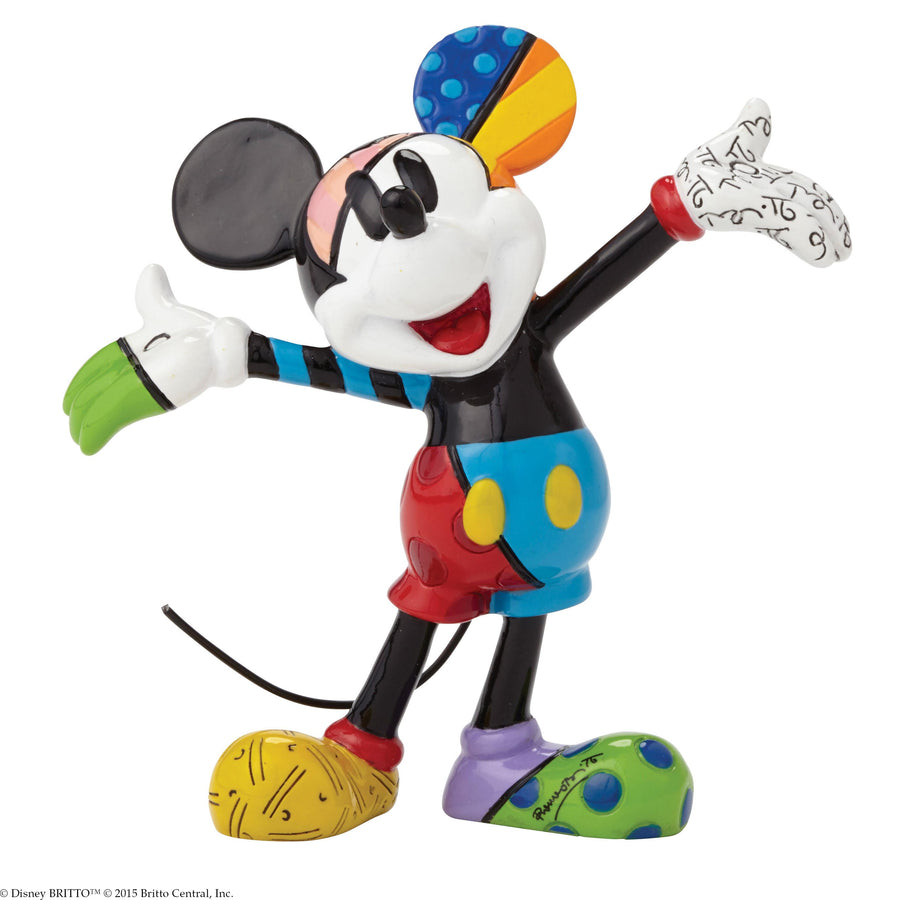 Enesco - Britto - Disney - Resin Figure Mickey Mouse