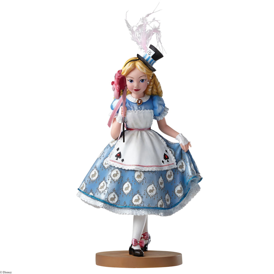 Enesco - Disney Showcase Collection - Haute Couture - Resin Figure Alice in Wonderland (65th Anniversary)