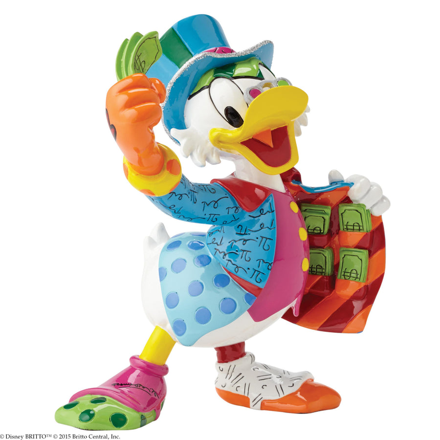 Enesco - Britto - Disney - Resin Figure Uncle Scrooge