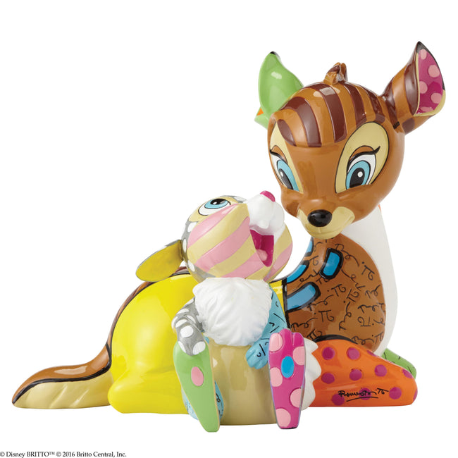 Enesco - Britto - Disney - Bambi - Resin Figure Bambi & Thumper
