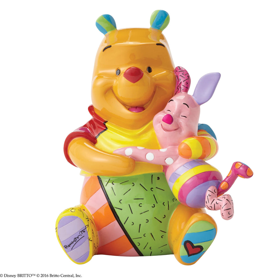 Enesco - Britto - Disney - Winnie The Pooh - Resin Figure Pooh & Piglet