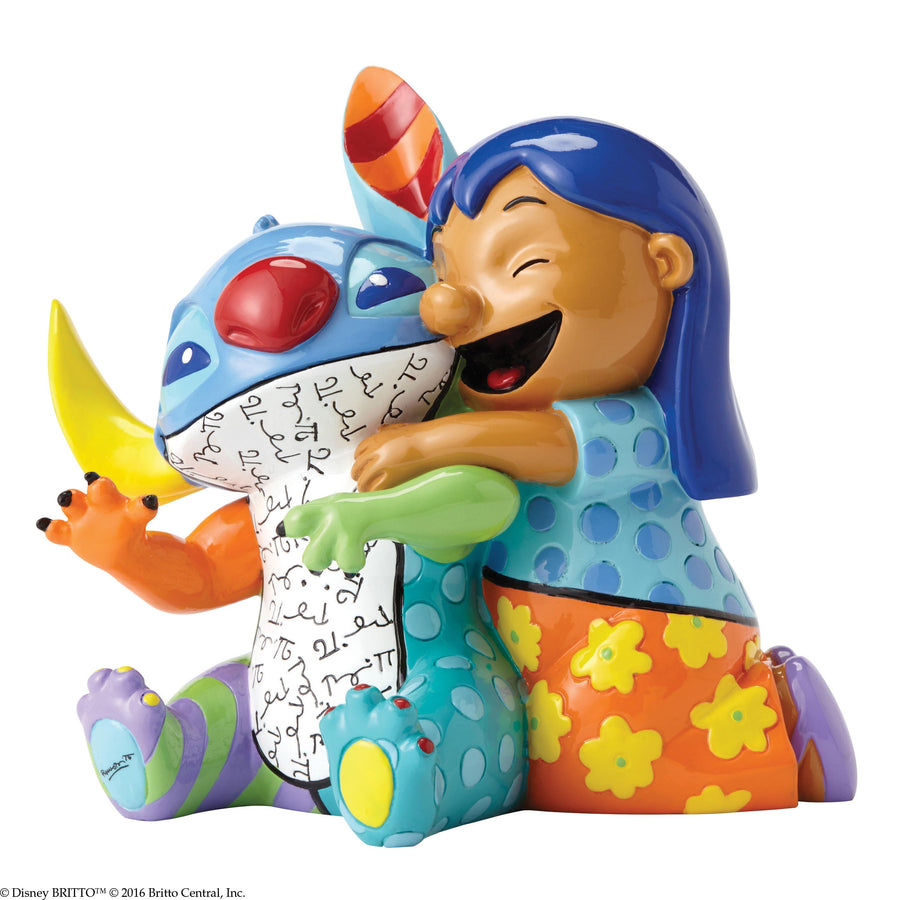 Enesco - Britto - Disney - Resin Figure Lilo & Stitch