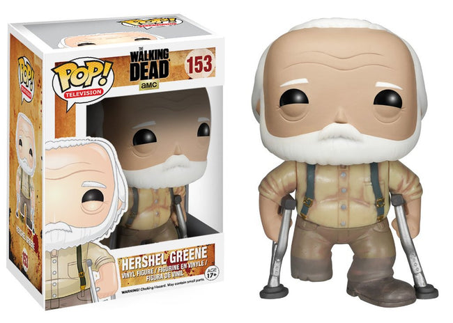Funko POP! Television - The Walking Dead - Vinyl Figure Hershel Greene (153)
