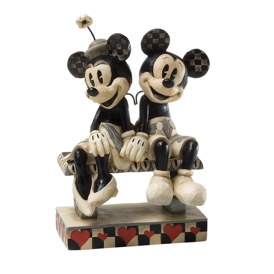 Enesco Resin Disney - Showcase Collection - Figure Mickey & Minnie 'Date Night'