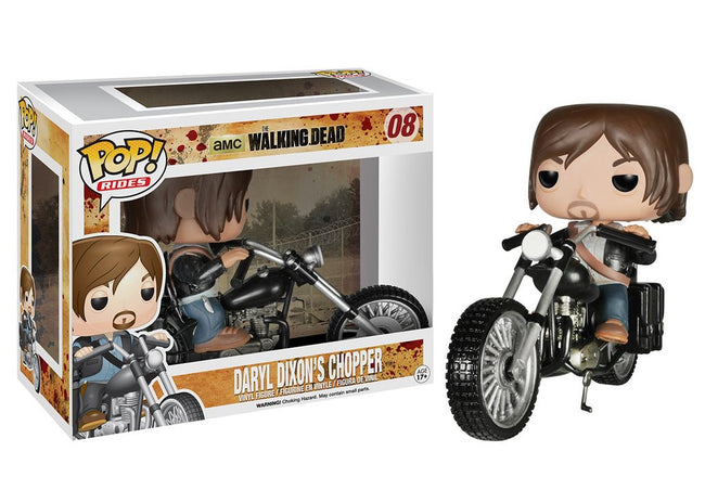 Funko POP! Rides - The Walking Dead - Vinyl Figure Daryl Dixon's Chopper (08)