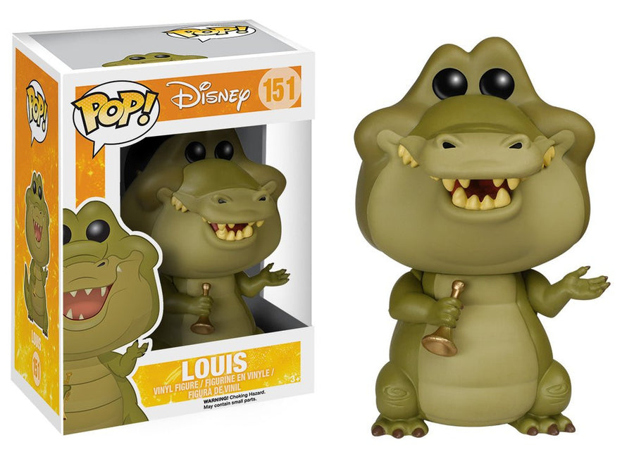 Funko POP! Vinyl - Disney - The Princess and the Frog - Louis (10 cm)