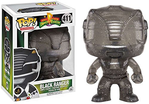 Funko POP! Vinyl Television - Power Ranger - Figure Black Ranger (Morphing) (Exclusive) (411)