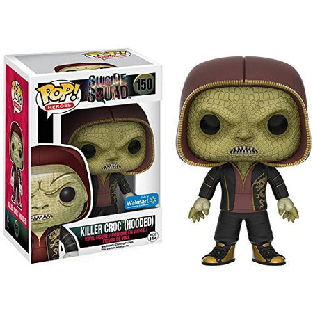 Funko POP! Vinyl Heroes Suicide Squad Figure Killer Croc (Hooded) (9 cm)