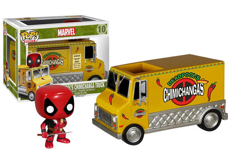 Funko POP! Vinyl Rides - Marvel - Figure Deadpool's Chimichanga Truck